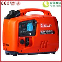 1kW AC120/230V DC 12V Ultra-quiet Digital Inverter Portable Power Gasoline Generator LH1000i (ORANGE), CE & TUV