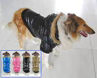 Designer Down Coats Parka Winter Clothes For Big Dogs 2014 New Pets Products Clothing Free Shipping