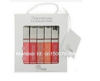 hot selling limited edition lip gloss lips 5 piece set gift box 5ml small-sample