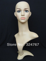 2013 Top Quality  Female Clear plastic  Mannequin in Fashionable Style