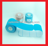 NEW sports safe Elbow Knee back guard precut roll Kinesiology tape sports elastic  5cm x 5m I kinesio PRECUT TAPE