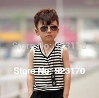 2014 Free shipping hot  vintage fashion large children's sunglasses
