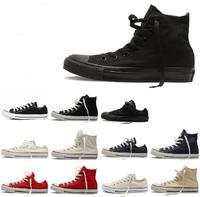 Canvas Sneaker star men /women's High&Low top sneaker euro size 35-44 man shoes sneakers for woman
