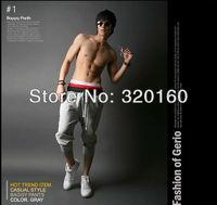 Hot!2013 New Hot Sale Mens casual shorts sport Pants harem hip hop pants sweatpants 4 color men's shorts Size:S-XXL