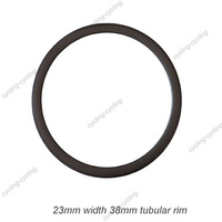 FREE SHIPPING 23mm width 38mm tubular carbon road bike rim,carbon bicycle rim,single rim