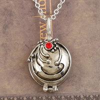 Free Shipping gift bags wholesale The Vampire Diaries Elena vervain anti-sun Rhinestones necklaces pendants fashion jewelry 2123