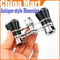 Free Shipping 3 x 25 Beatiful Classic Antique Binoculars Telescopes Glasses For Theater Opera