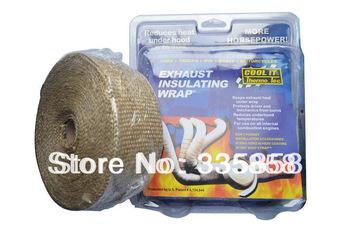 COOL IT exhaust insulating warp,Thermal Wrap,exhaust pipe warp 10meter