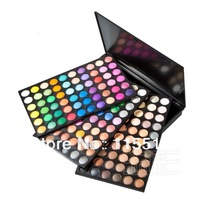 free shipping,hot sell,180 Colour Shimmer matte Eyeshadow Eye shadow make up Palette 3 layer SP180