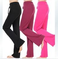 Promotion! Retail! High Quality Modal Sweat Pants Women's Yoga Trousers Dancing Sportswear Free Ship 830002J