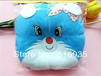 1 Piece Free Shipping New arrival Cute Baby Toddler Cartoon Pillows Cartoon Pillows Cat Baby Pillow Infant Shape Pillows3Colors