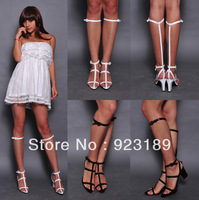American brand name sandals fashion women's leather designer sandals sexy thick heel sandals the new style sandals for female