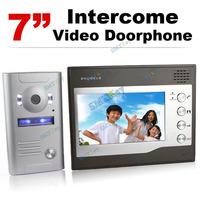 Home CCTV 7 Inch Color TFT LCD Video Doorphone Door Bell Intercom IR Outdoor Camera