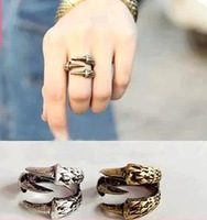 (mixed order $ 6, free shipping) vintage talons claw quality finger rings 4g