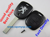 Peugeot 307 2 Button Remote Key Shell Case Cover