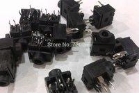 "5PIN 1/8"" 3.5mm Stereo Socket Headphones Jack PCB Panel Mount free shipping"