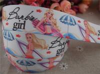 2013 new arrival 1'' 25mm princess printed grosgrain ribbon cartoon girl ribbon summer ribbon 10 yards tape