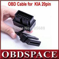 Free shipping for KIA 20Pin to OBD OBD2 16PIN