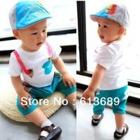 Free Shipping&5pcs/lot!dresses new fashion 2013 cotton  short dresses,clothing baby  hot sale kids jumpsuit novelty dress