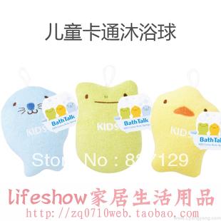 Kokubo child bath ball bath rub bathsite cartoon child sponge