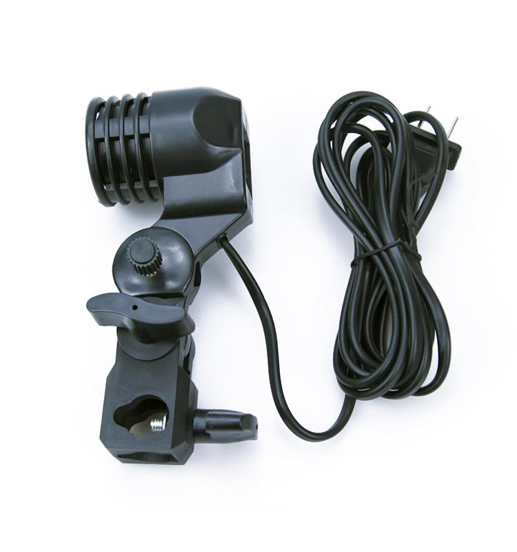 photo studio e27 ac swivel socket adatper light stand. Black Bedroom Furniture Sets. Home Design Ideas