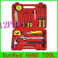 SunRed BESTIR taiwan made 12PCS Mixed Hand Tool Sets,NO.92102 wholesale freeshipping