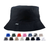 Bucket hats reversible two sides two colors Summer outdoor mesh cotton comfortable sun protection fisherman hat chapeu