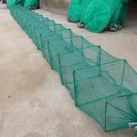 2014 Limited Promotion No Double Fyke Net Pe Handmade Shrimp Cage Loach Eel The Fishing Net Screen Frame 24x20cm 3 Meters