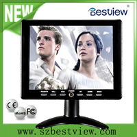 Free shipping!!! Bestview 8 inch colorful cctv lcd monitor for video camera