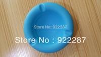 Roundness Silicone ashtray business ashtray high temperature tolerance 3pcs/lot free shipping