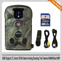 Free Shipping!!8GB Original LTL Acorn 5210A Game Hunting Scouting Trail Camera 940NM Blue12MP