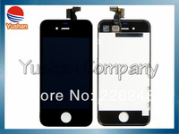 Free DHL/EMS For Apple iphone 4s lcd Screen Assembly Replacement Lcd Display with Frame with Opening Tools 10pcs/lot