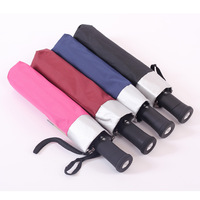San xiang umbrella folding umbrella fully-automatic umbrella flashlight with light umbrella