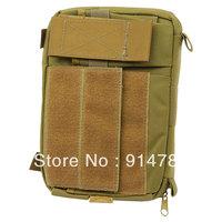 BATTLE HUNTER TACTICAL COMBAT MULTI-FUNCTION KHAKI MAP BAG CORDURA-33050