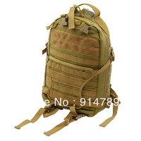 BATTLE HUNTER TACTICAL COMBAT MULTI-FUNCTION KHAKI BACKPACK BAG CORDURA-33034