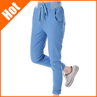 spring summer new 2014 women bottoms plus size pant casual slim harem  pants woman trousers