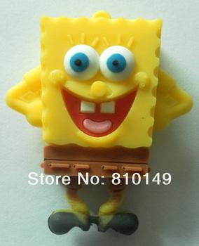 Standing Spongebob USB Flash Drive 4GB 8GB 16GB 32GB 64GB Disk Memory Free shipping