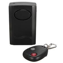 Free Shipping Home Security Wireless Remote Control Vibration Motorcycle Bike Door Window Detector Burglar Alarm Wholesale