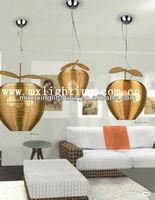 Wholesale High End Aluminum Weave Pendant Lamp 1771-3