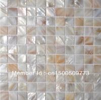 FREE SHIPPING Shell Mosaic Tiles, Natural Shell tiles, Naural Mother of Pearl Tiles, bathroom wall flooring tiles