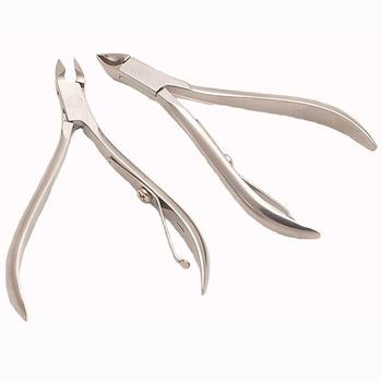 Free shipping Leather plier dead skin scissors peeling plier dead skin scissors pedicure beauty plier