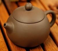 Xi shi pot kung fu tea yixing tea yixing tea bamboo teapot small teapot