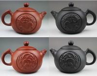 yixing teapot tea set  170cc dragon pot