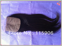 Love Story Hair 4*4 inch Brazilian Virgin Hair  silk base lace closure Wholesale Fast Shipping