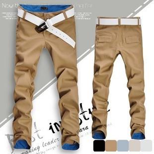 Free shipping! Hot sale men pants fashion casual pants men new design high quality cotton mens pants 12 colors size 28~36