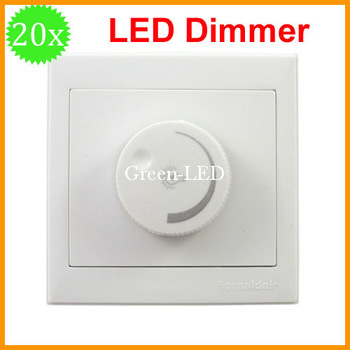 Free shipping 20pcs/lot LED Dimmer 300w  AC220V 50Hz Dimming Driver Brightness Controller For Dimmable led light down spotlight