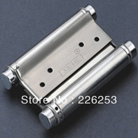 High quality stainless steel spring hinge 6'' double-spring