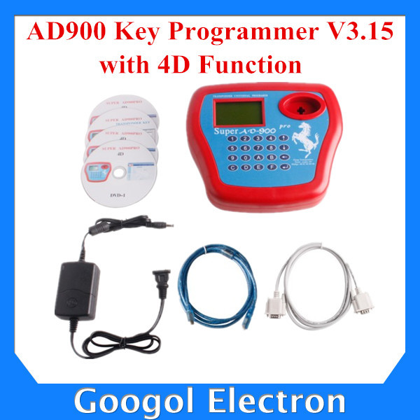 2015 New Arrivals AD900 Pro Key Programmer 3.15V with 4D Function Super AD900 Pro AD900 Auto Key Programmer Free Shipping(Hong Kong)