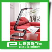 2013 Grey Bent Glass Table Light -L003G