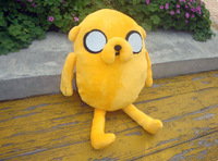 New arrival Cute Cartoon Adventure Time Jake Plush Doll Toy Approximately 30 CM Birthday Gift Free shipping
